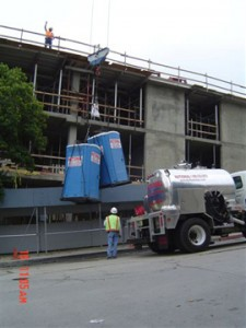 porta potties for seattle construction sites