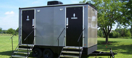 vip portable restroom trailers in Seattle WA