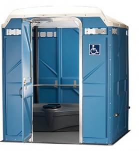 wheelchair accessible portable restroom seattle